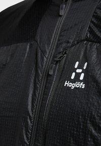 Haglöfs - SUMMIT HYBRID VEST - Waistcoat - true black - 3