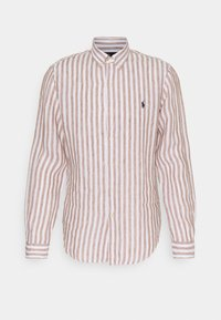 Skjorta - khaki/white