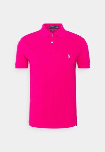 SHORT SLEEVE KNIT - Polo - aruba pink