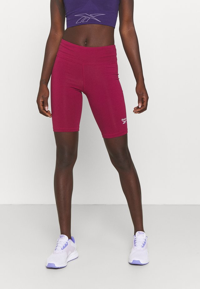 RI SL FITTED SHORT - Collant - punch berry