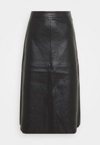 PIECES Tall - PCSURIANNA MIDI SKIRT TALL - Pencil skirt - black - 0