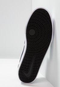 Nike SB - CHARGE SLR - Tenisky - obsidian/white - 4