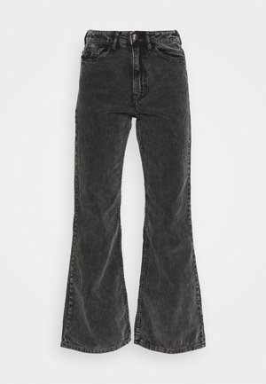 RITZ TROUSERS - Bukser - washed black
