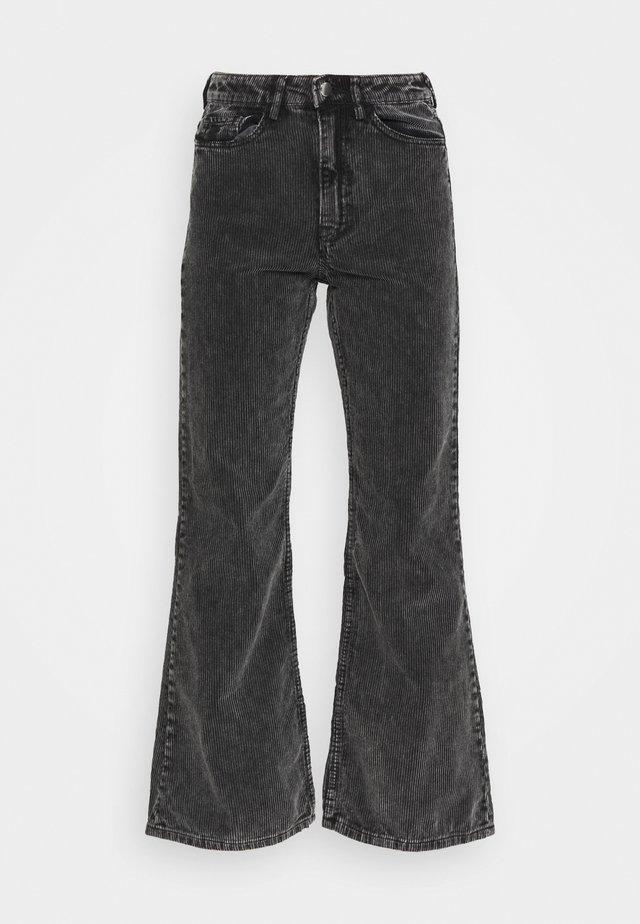 RITZ TROUSERS - Pantaloni - washed black