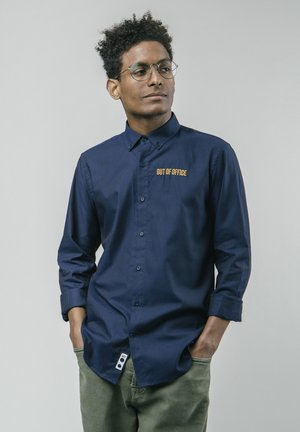 OUT OF OFFICE ESSENTIAL - Shirt - blue
