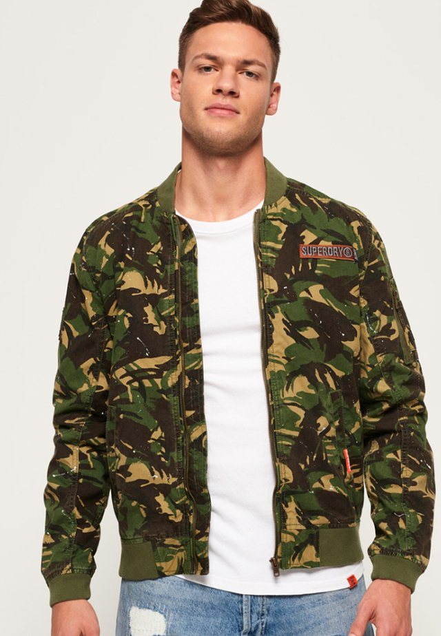 Bomber Jacket - khaki