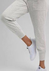 Esprit Sports - FASHION - Tracksuit bottoms - light grey - 5