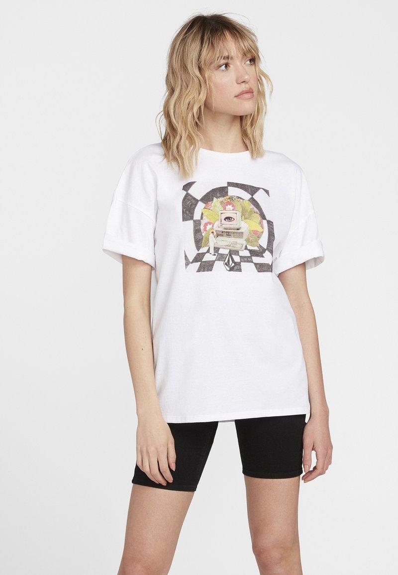 Volcom - T-Shirt print - white