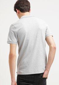 Selected Homme - SLHARO EMBROIDERY - Polo shirt - light grey melange - 2