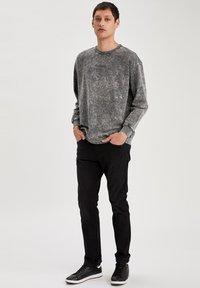 DeFacto - Jeans slim fit - black - 1