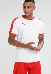 Puma - LIGA  - Sportswear - white/red - 0