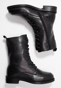 Zign - Bottines à lacets - black - 3