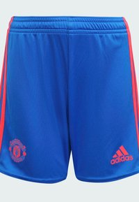 adidas Performance - MANCHESTER UNITED AWAY MINI FOOTBALL AEROREADY PRIMEGREEN MINIKI - Sports shorts - blue - 4