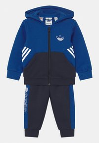 adidas Originals - HOODIE SET UNISEX - Trainingspak - royblu/legink - 0