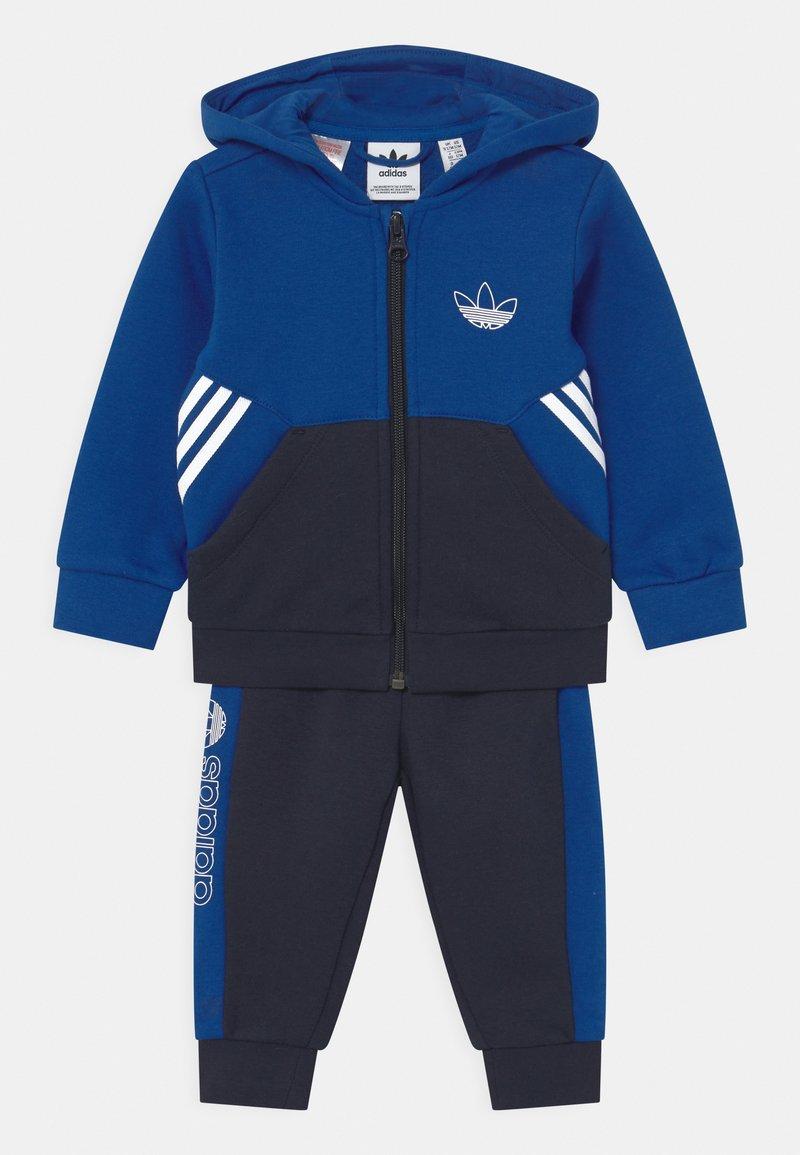 adidas Originals - HOODIE SET UNISEX - Trainingspak - royblu/legink