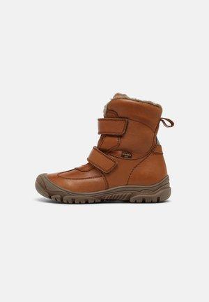 LINZ TEX UNISEX - Classic ankle boots - cognac