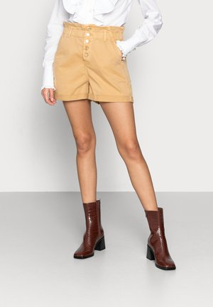 TAYLOR - Denim shorts - curry