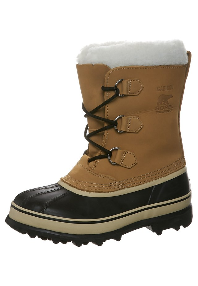 YOUTH CARIBOU - Snowboots  - beige