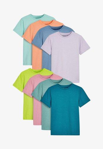 8 PACK - Basic T-shirt - multi coloured