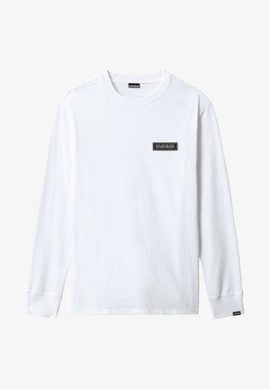 PATCH - T-shirt à manches longues - bright white