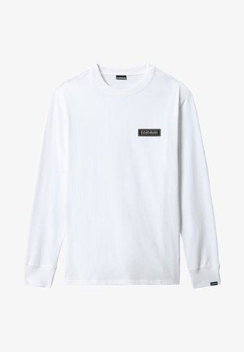 PATCH - Long sleeved top - bright white