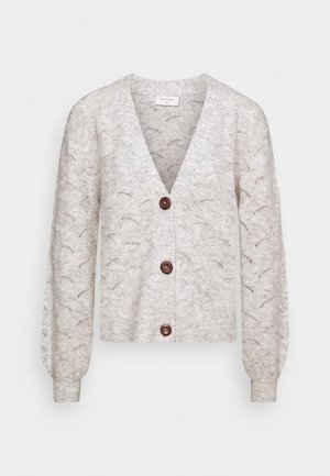 HILL CAR - Cardigan - oatmeal melange