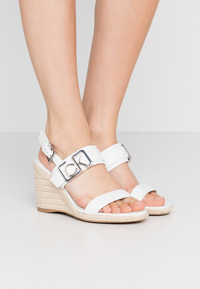 BELORA - High heeled sandals - white
