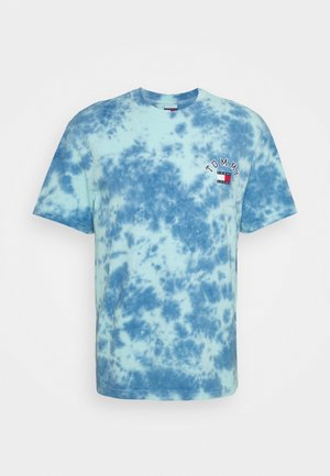 TIE DYE TEE UNISEX - Print T-shirt - blue