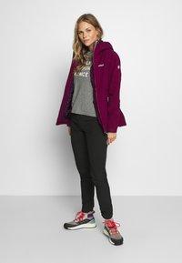 Regatta - WENTWOOD 2-IN-1 - Outdoor jacket - purpot - 1