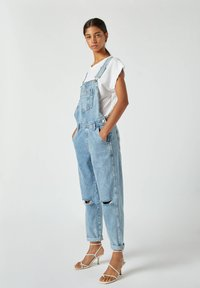 PULL&BEAR - Dungarees - blue - 1