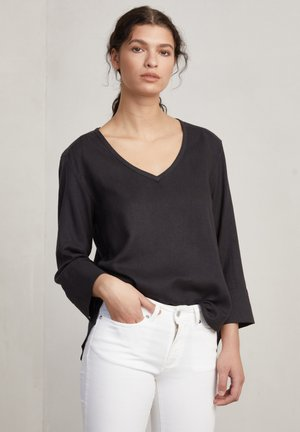 Blouse - charcoal