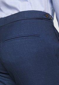 Ben Sherman Tailoring - BRIGHT FLECK SUIT SLIM FIT - Kostym - blue - 11