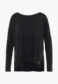 Reebok - SUPREMIUM LONG SLEEVE - Funktionsshirt - black - 4