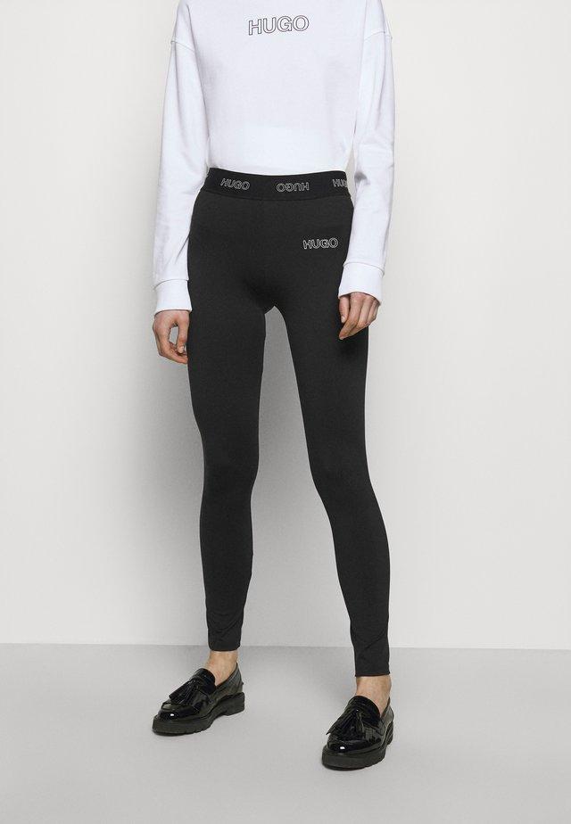 NASABE - Leggings - Trousers - black