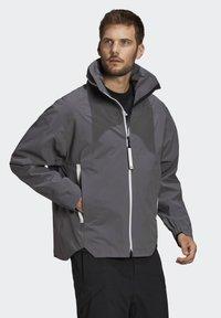 adidas Performance - MYSHELTER URBAN RAIN.RDY OUTDOOR - Outdoor jacket - grey - 4