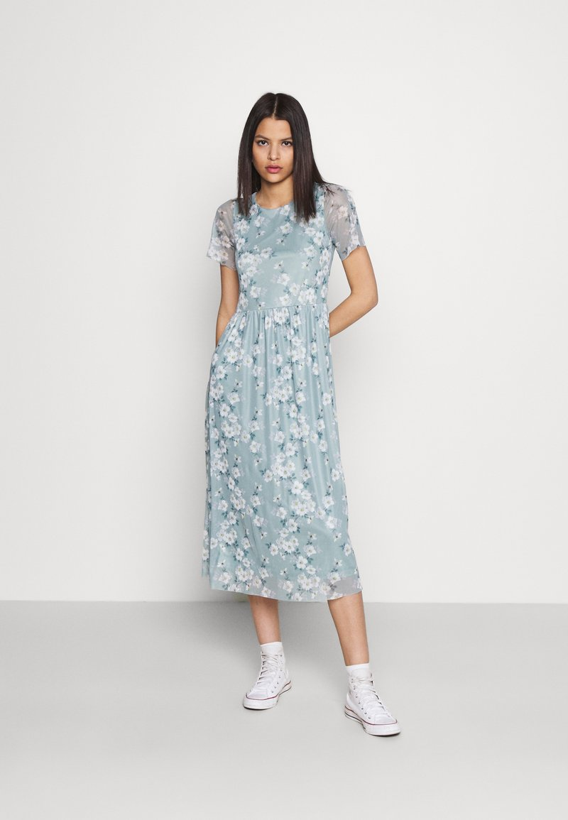 Vila - VIMIRANDA MIDI DRESS - Cocktail dress / Party dress - jadeite
