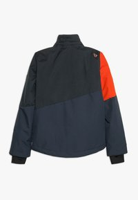 Brunotti - IDAHO BOYS SNOWJACKET - Kurtka snowboardowa - red/dark blue - 2