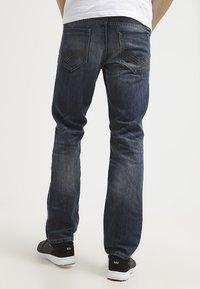 TOM TAILOR - MARVIN - Straight leg jeans - mid stone wash denim - 2