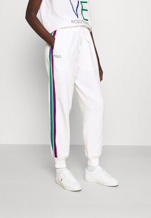SEASONAL - Spodnie treningowe - oxford white