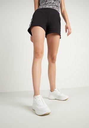 MIT STREIFEN - Shorts - nero/bianco