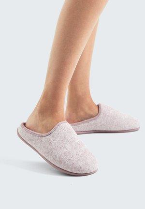 Domácí obuv - mauve