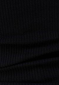 Bershka - Long sleeved top - black - 5