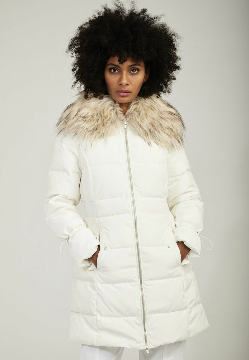 NAF NAF - Down coat - white