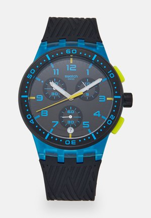 YELLOW TIRE - Chronograph watch - blue