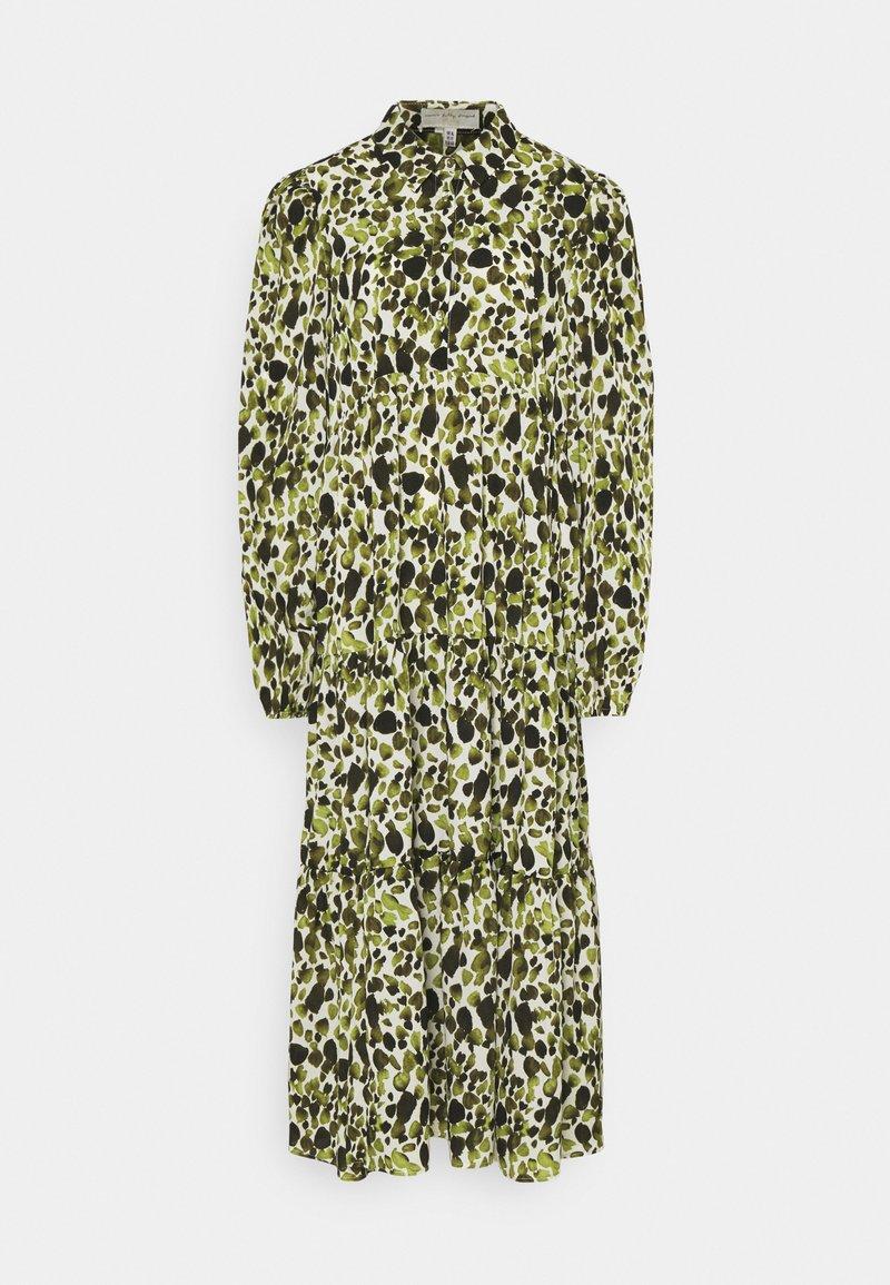 Never Fully Dressed - LEAF PANEL DRESS - Robe chemise - green