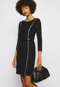 Anna Field - Shift dress - off-white/black - 4