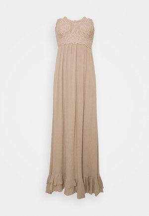 ADELLA CORSET - Maxi šaty - hazelnut