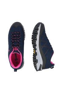 Brütting - Hiking shoes - dark blue/light pink - 1