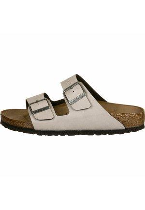 Slippers - grey/brown