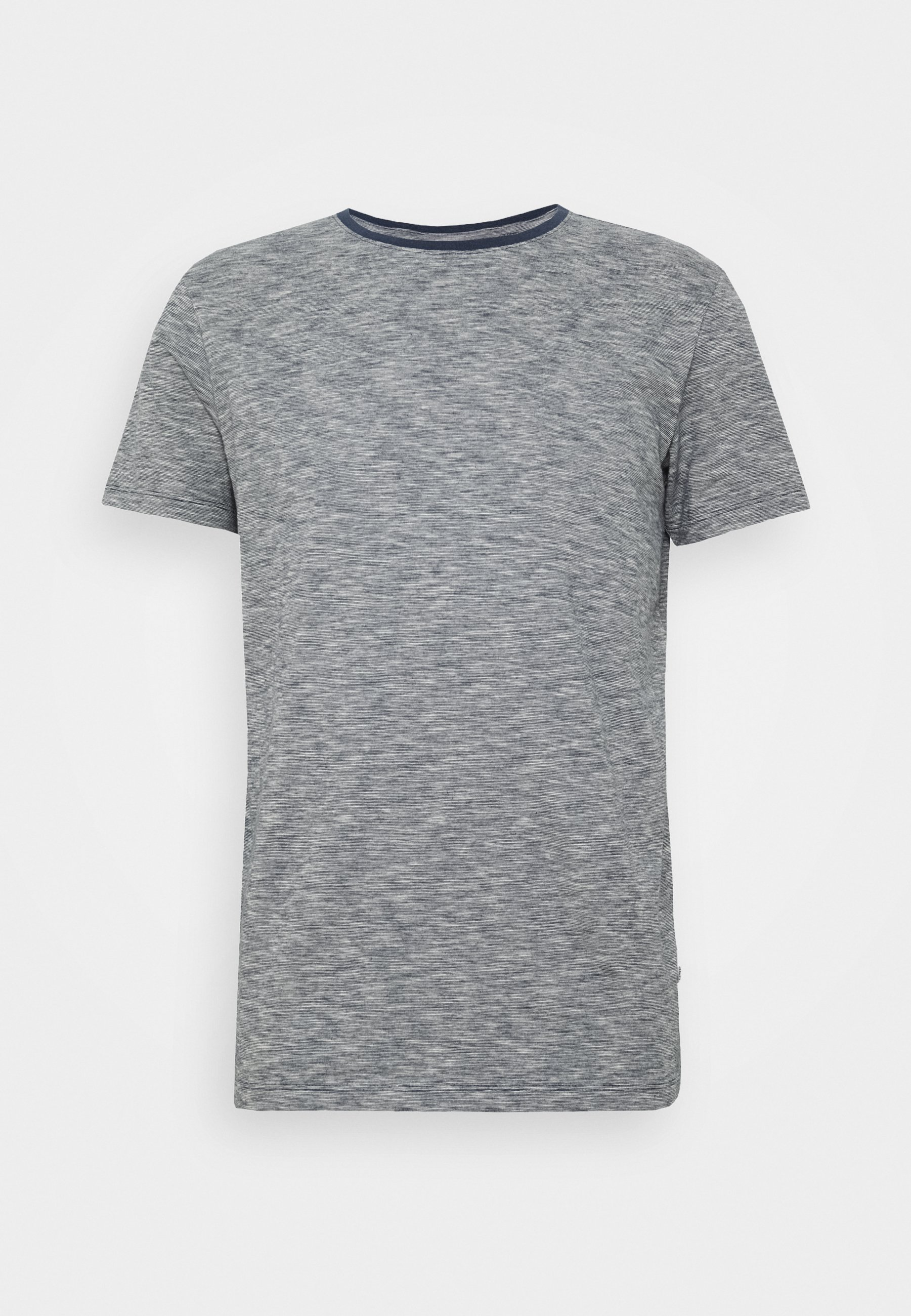 Lindbergh Tee - T-shirts Med Print Navy